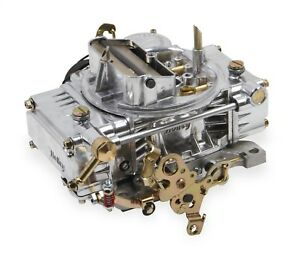 Holley 0 80457sa Street Carb 4160 Universal 600 Cfm Polished Alum