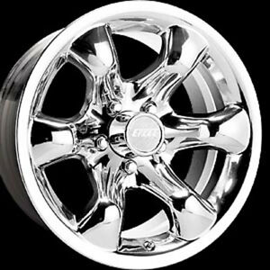 15x8 American Eagle 146 Series Polished Aluminum Wheel 5 4 5 Bc