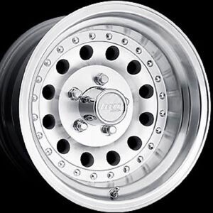 15x10 American Eagle 559 Series Polished Aluminum Wheel 6 5 5 Bc
