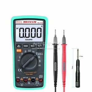 Nktech Led Test Auto Power Off True Rms Digital Multimeter Multi Tester 6k Count
