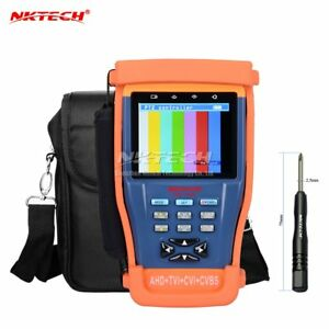 Nktech Nk 895 4in1 Cctv Surveillance Camera Tester Video Monitor Analog Detector