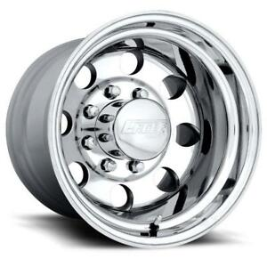 15x10 American Eagle 589 Series Polished Aluminum Wheel 5 4 75 Bc