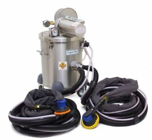 Tiger vac Model Ss 10 4w Sk Hepa Explosion Proof Vacuum With Dual Sanding Kit