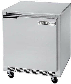 Beverage air Commercial Undercounter Refrigerator 27 Ucr27a