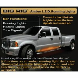 Recon 26414 62 Big Rig Amber Running Lights