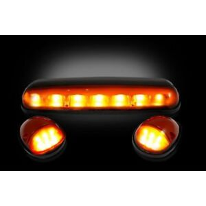 Recon 264155am Amber Cab Roof Lights For 2002 2007 Chevy Gmc Classic