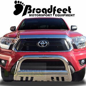 Broadfeet Bull Bar Front Bumper Guard Protector For 2016 2019 Toyota Tacoma