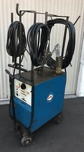 Miller Ramrod 200 Amp Dc Welder On cart W remote Amperage Control Outlet 3ph