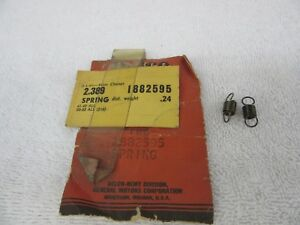 Nos 1941 1953 Chevrolet Car Truck Distributor Weight Springs 2 Gm 1882595 Dp