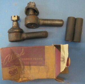 1949 51 Ford Passenger Cars New Pair Tie Rod Ends
