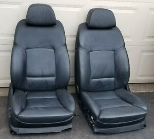 Bmw Oem F10 550 535 2011 15 Pair Front Left Right Heated Sport Comfort Seats Blk