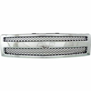 New 2007 2013 Grille Front For Chevrolet Silverado 1500 Gm1200572