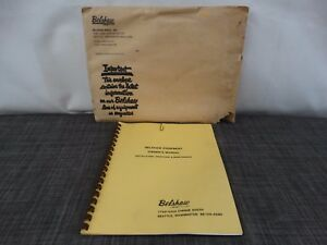 Belshaw Equipment Doughnut Machine Model N Variety Cutter Owner s Manual f2