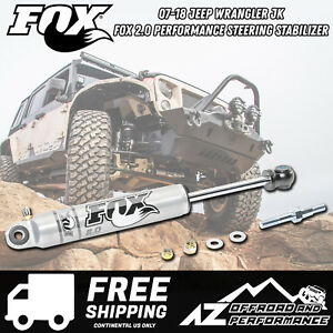 Fox 2 0 Performance Series Ifp Steering Stabilizer Fits 07 18 Jeep Wrangler Jk