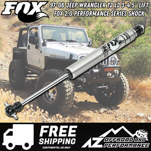 Fox 2 0 Performance Series Ifp Front Shock 97 06 Jeep Wrangler Tj Lj 3 4 5