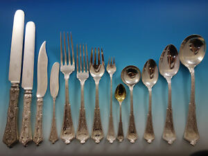 Persian By Tiffany Co Sterling Silver Flatware Service Set Dinner 261 Pieces