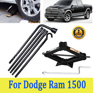 Spare Tire Lug Wrench Tools For 02 15 Dodge Ram 1500 And 2 Tonne Scissor Jack