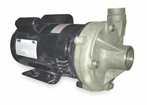 Dayton Stainless Steel 1 Hp Centrifugal Pump 115 230vac Voltage 14 4 7 2 Amps