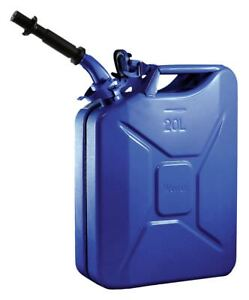 Wavian Gas Can 5 Gal Blue Include Spout 2238c