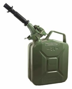 Wavian Gas Can 1 Gal Green Include Spout 2238 5