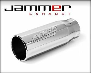 Edge 37635 Turbo Back 4in Jammer Ss Exhaust System For Dodge Ram 5 9l Cummins
