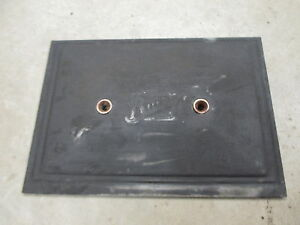 1928 Buick Straight 6 Engine Motor Side Plate Cover Oem 22144
