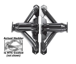 Hedman Hedders 68366 Street Rod Htc Mild Steel Block Hugger Exhaust Header