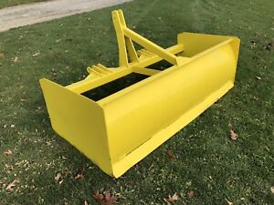 7 Box Blade Scraper Land Leveler 3 Point Hitch Very Heavy Duty