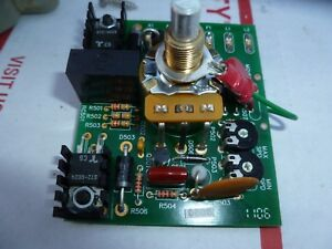 Potentiometer Card With Components