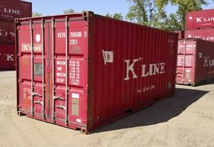 20 Used Shipping Container conex Sea Van Dry Container Louisville Ky