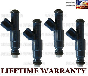 4x Genuine Bosch Fuel Injectors For Ford Focus Escape Mercury Mariner 2 0l Dohc