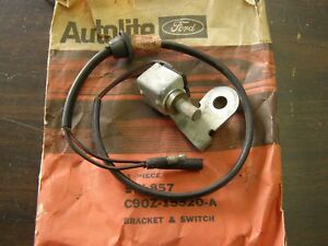 Nos Oem Ford 1969 Torino Back Up Light Lamp Switch 3 Speed 390ci W Console