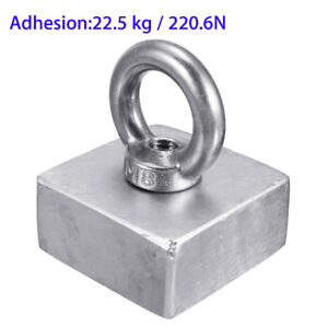2pcs Block 50x50x25 Mm Super Strong N52 Rare Earth Neo Magnet Circular Neodymium
