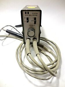 Hp 1120a Active Fet High Impedance Probe 500mhz 50 0 5v