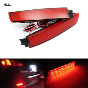 Led Bumper Reflector Tail Brake Lamp For Nissan Sentra Murano Infiniti Fx35 Fx37