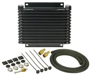 Derale 10 1 8 X 11 3 8 X 1 1 4 In Automatic Trans Fluid Cooler Kit P n 13613