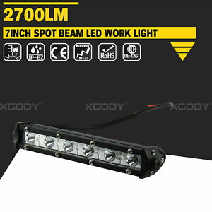 7 Led Lamp Driving For Offroad Suv 4wd Car Boat Truck 18w Led Light Work Bar