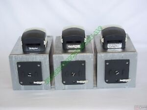 3 Bioengineering Peripex W1 Peristaltic Pump Watson Marlow 314d Pumphead Tested