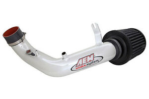 Aem Short Ram Air Intake System Polished Fits 02 06 Acura Rsx Type s 2 0l L4