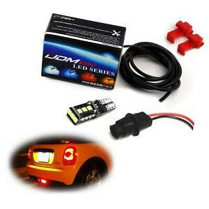 1 921 W16w Led Replacement Bulb W rear Fog Lamp Enable Adapter For Mini Cooper