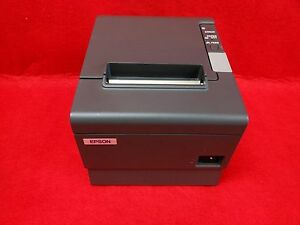 Epson Tm t88iv Pos Thermal Printer serial Interface Power Supply Included