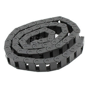 1 Pcs Plastic Cable Drag Chain Wire Carrier 15 20mm R28 1000mm 40