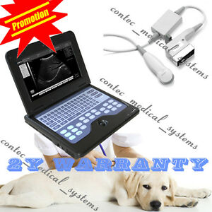 Portable Veterinary Ultrasound Scanner Laptop Machine 3 5mhz Micro Convex Probe