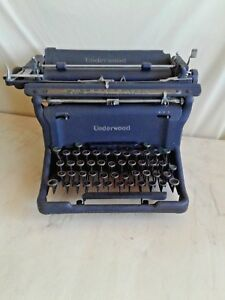 Typewriter Underwood 5 20 S Standard Antique Model S11 5826853 Steampunk