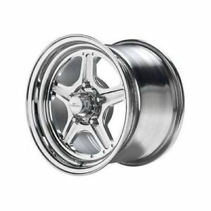 Billet Specialties Rs0351f6175n Street Lite Wheel 15 X10 Size 5 X4 75 Bolt
