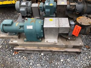 Viking Kk225 Jacketed Cast Iron Gear Pump 4x4 2hp