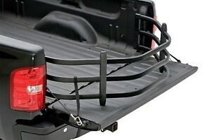 Amp Research Black Bed Extender Hd Sport For Chevy Toyota Nissan 74801 01a