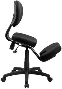 Mobile Pneumatic Home Office Posture Tech Back Desk Knee Kneeling Chairs Stools