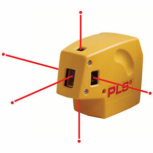 Pacific Laser Systems Pls Pls5 Self Leveling Plumb Laser Beam Level New Model