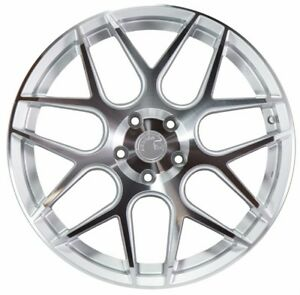 19x9 5 Aodhan Ls002 5x120 35 Silver Machined Face Wheels Set Of 4